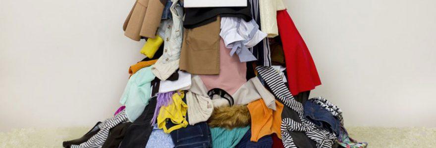 Gagner de l'argent à travers la vente de ses vêtements d'occasion