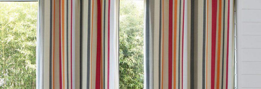 Rideaux multicolores : comment bien les choisir ?