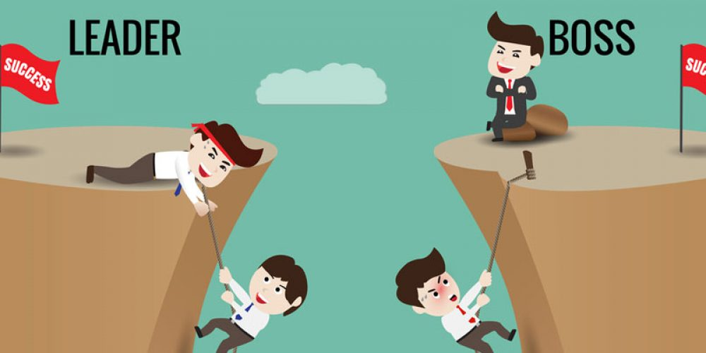 Quelles sont les différences entre un patron et un leader ?