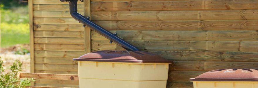 Acheter du matériel pour récupérer l'eau de pluie