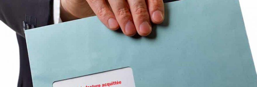 Est-ce obligatoire d'émettre des factures acquittées ?