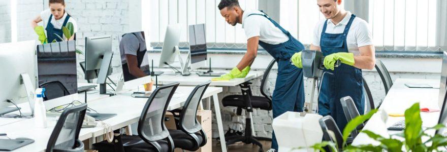 Nettoyage de bureaux : faire appel à une agence spécialisée